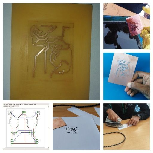 Simple Home Made PCB Layout Using \'eagle Software\'   Eagle software ...
