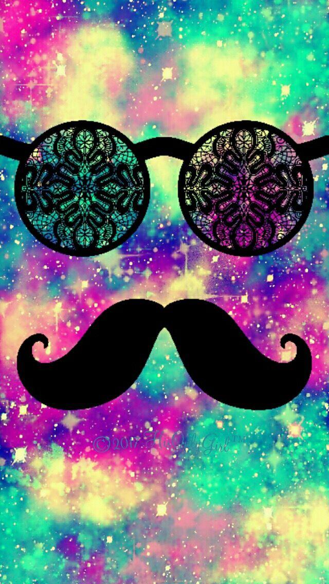 Hipster Mustache Wallpaper Hipster Wallpaper Galaxy Wallpaper Mustache Wallpaper