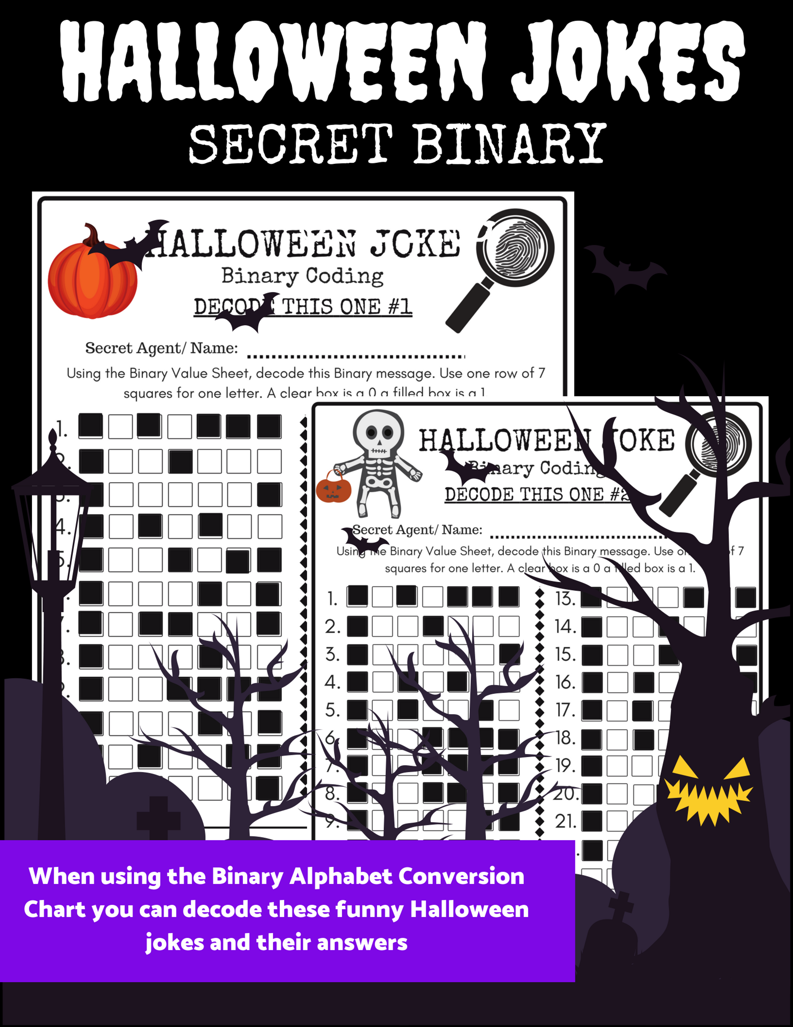 Perfect For Introducing Binary Coding To Your Students