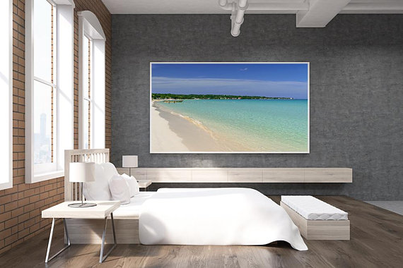 Jamaica Beach Print Negril Fine Art Prints Wall Art Home Decor