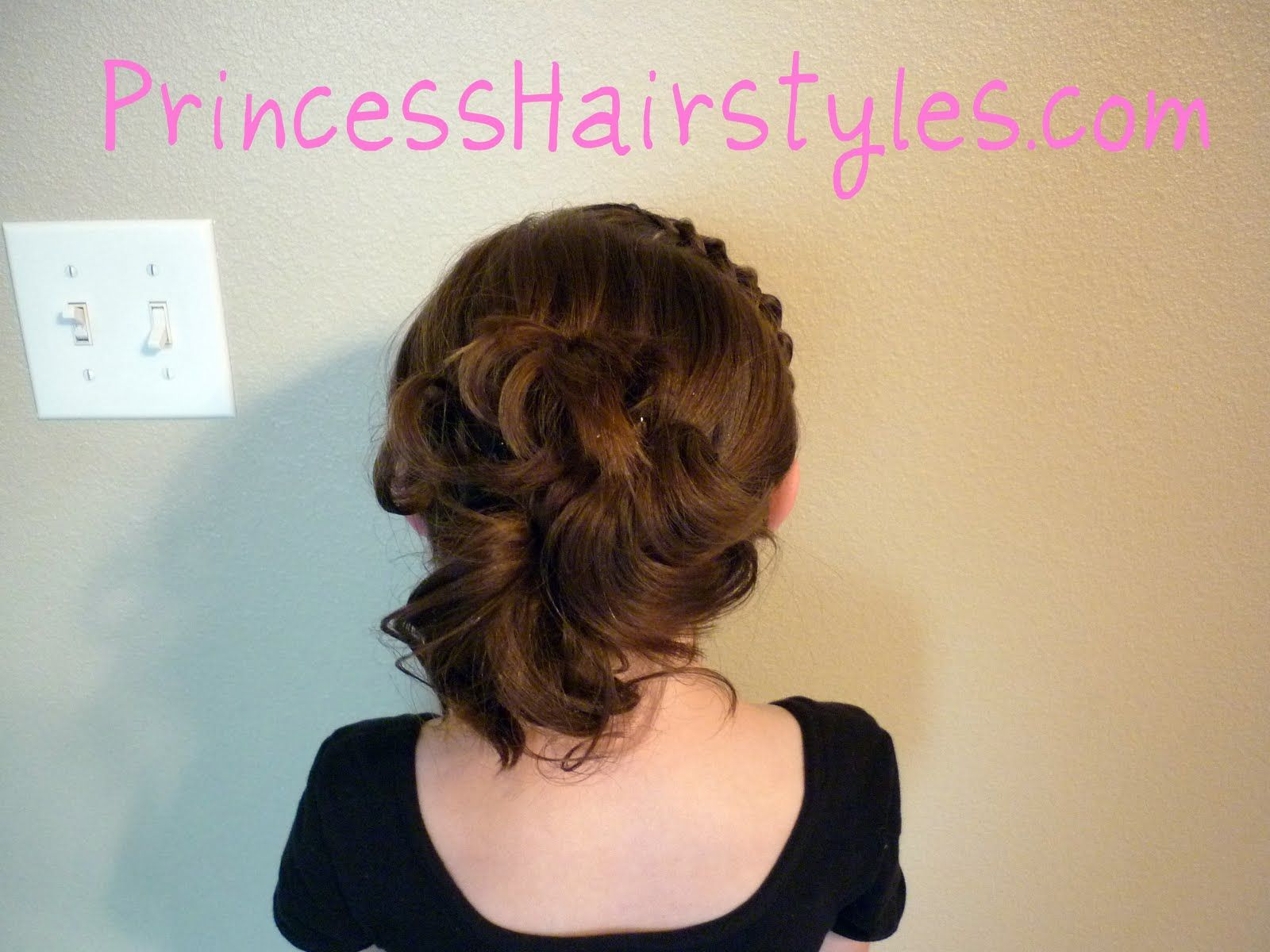 Hairstyles For Girls Princess Hairstyles Prom Hairstyles For Short Hair Messy Bun For Short Hair Princess Hairstyles