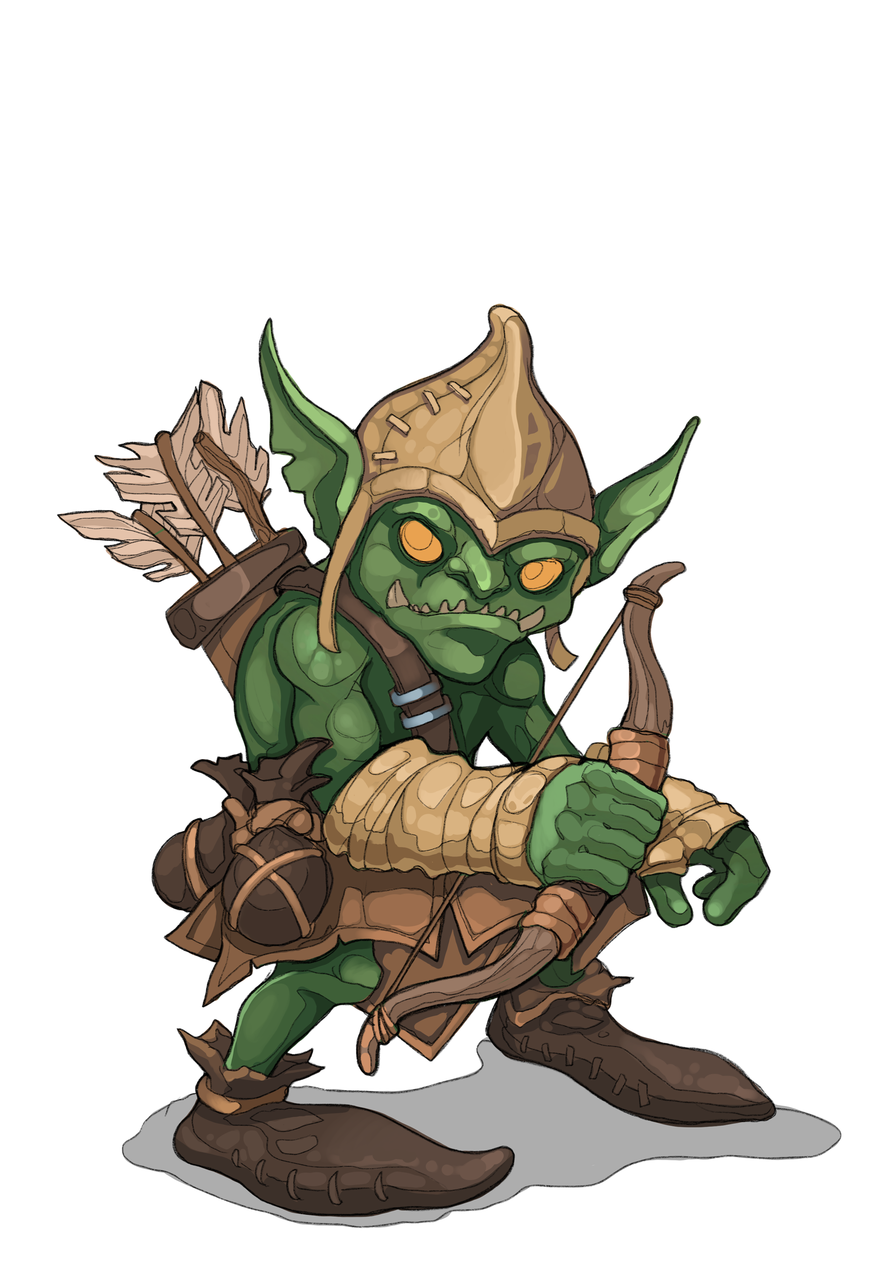 Characters Cards Pack 01 Pack Of Cards Pixel Size Goblin