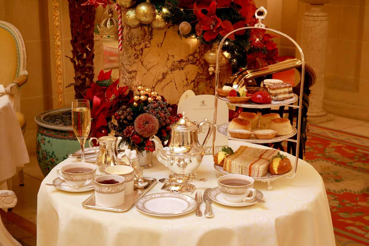 Christmas Afternoon Tea Ritz Bucket List