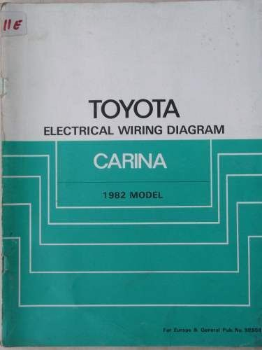 toyota carina electrical wiring diagram manual 1982 98598 jacks rh pinterest com