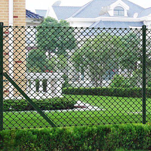 175 Vidalxl Grillage Vert 1 5 X 25 M Avec Poteaux Et Tous Les Accesso Https Www Amazon Fr Dp B00j571cgk Ref C Grillage Vert Cloture Grillagee Exterieur