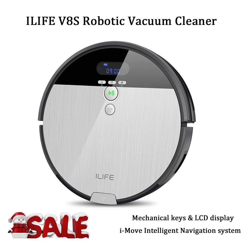 ILIFE A4S Smart Saugroboter Staubsauger Vollautomatisch Cordless Sweeping Robot