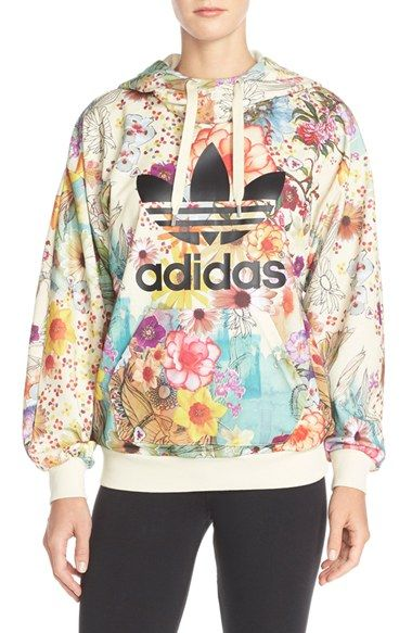 b98a430881c adidas Originals  Farm Confete  French Terry Hoodie available at  Nordstrom