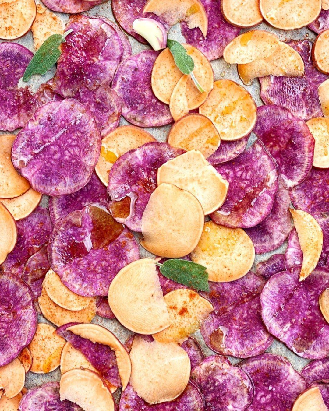 Cucina Naturale Zero Waste On Instagram Chips Di Verdura Fatte In Casa A Chi Non Piacciono Le Patatine Queste Vegan Recipes Snacks Snack Recipes
