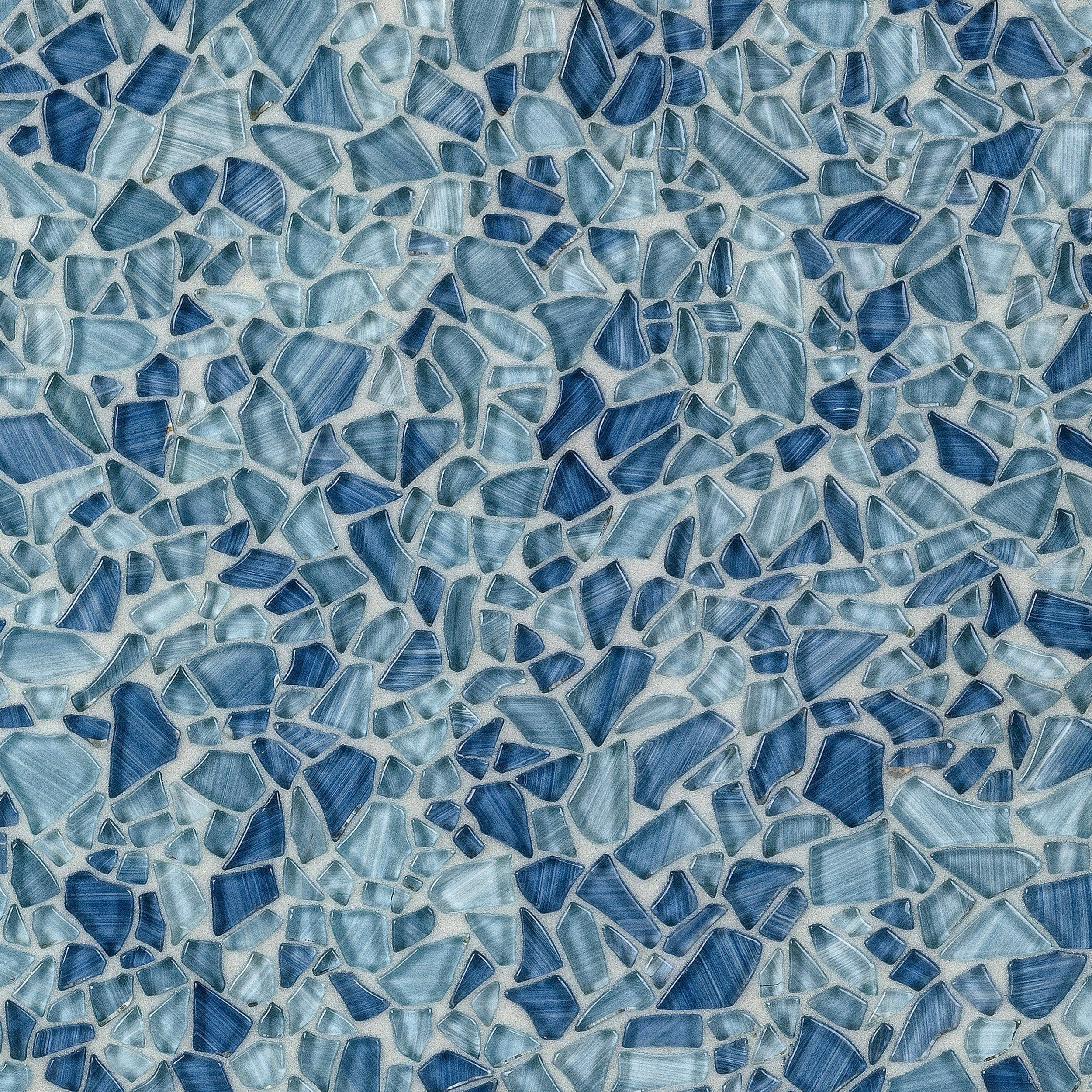 Paradise Bay Pebble Glass Mosaic In 2019 Kitchen Wall Tiles Kitchen Tiles Mosaic Tiles