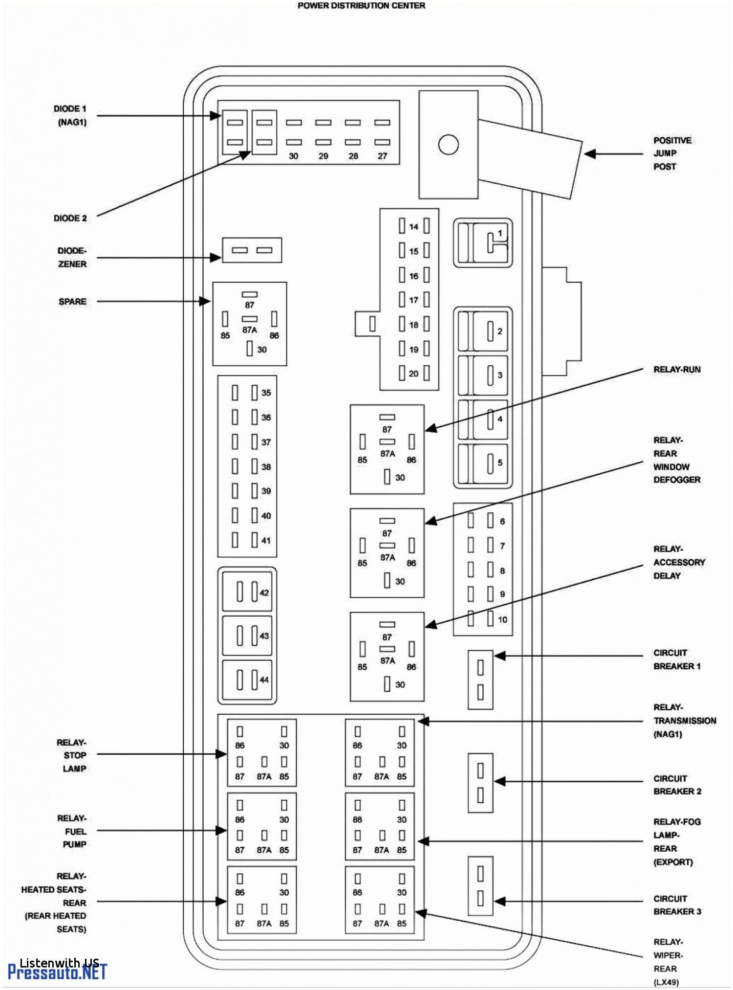 Dodge Amp Wiring Diagram