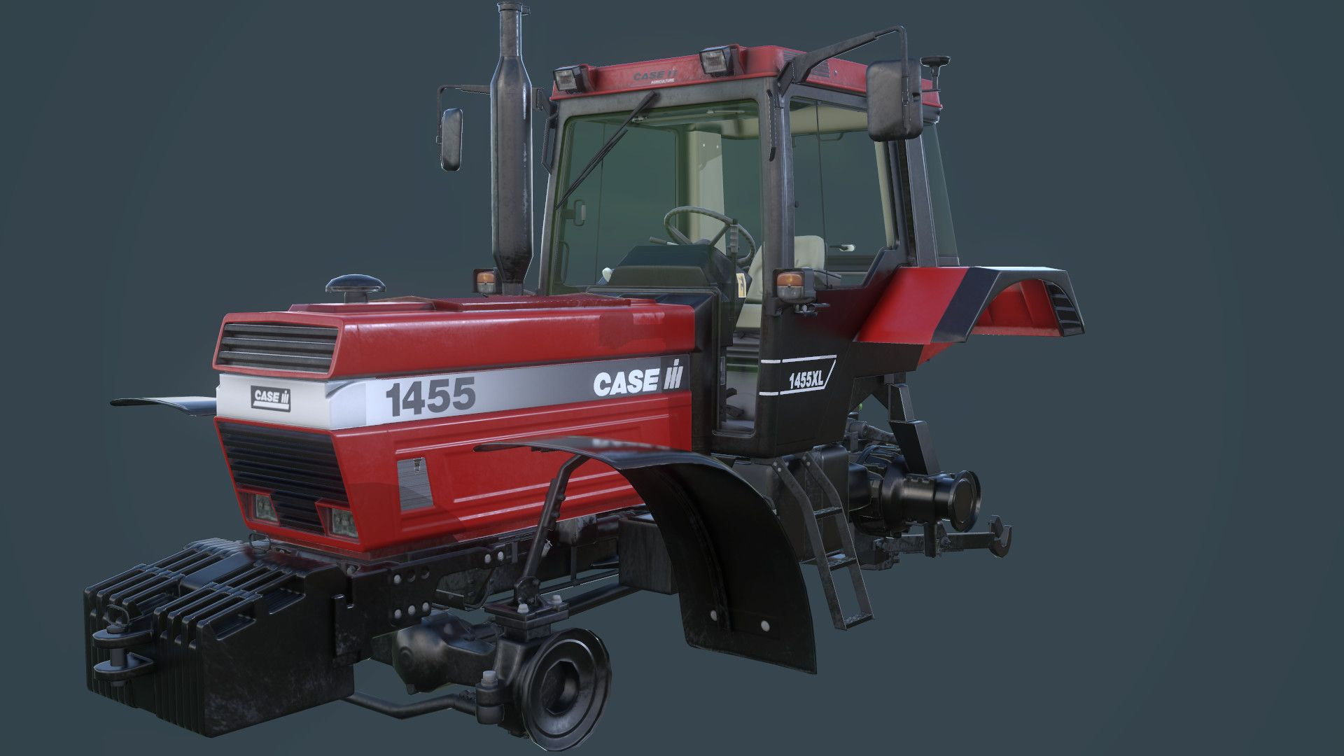 "ArtStation - Case IH 1455 model for ""Farming Simulator 17 ..."