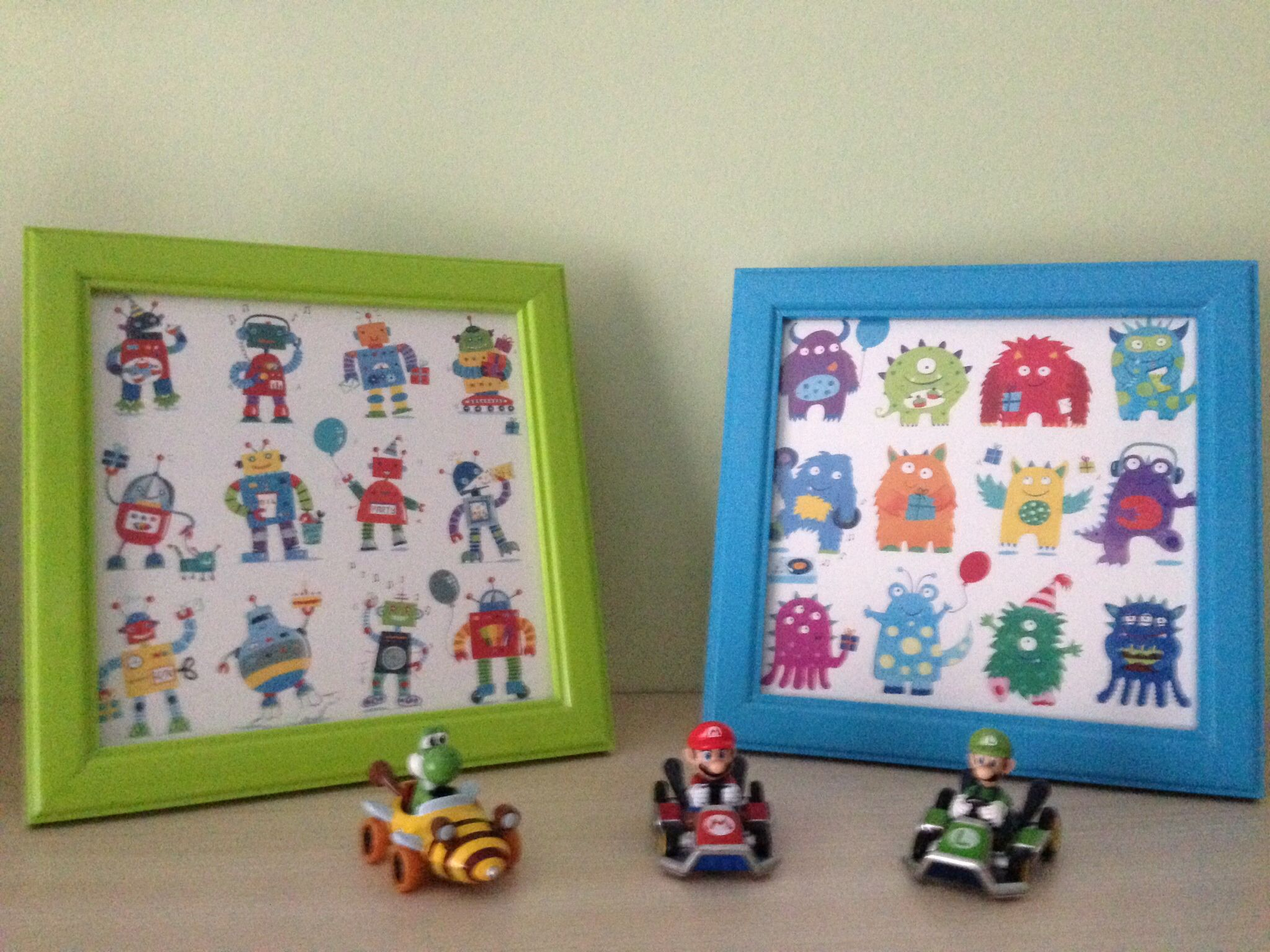 Greetings Cards Look Good In Frames For Kids Rooms These Are From