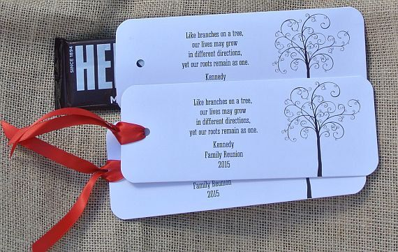 Family Reunion Favors Family Reunion By