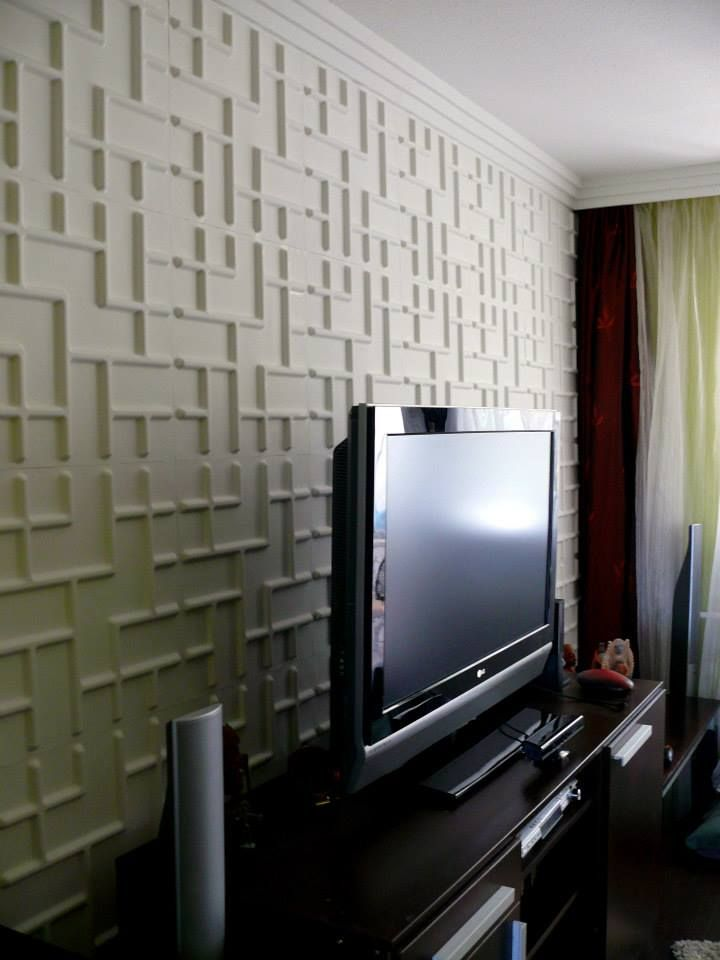 Tetris Gallery Decorative 3D Wall Panels