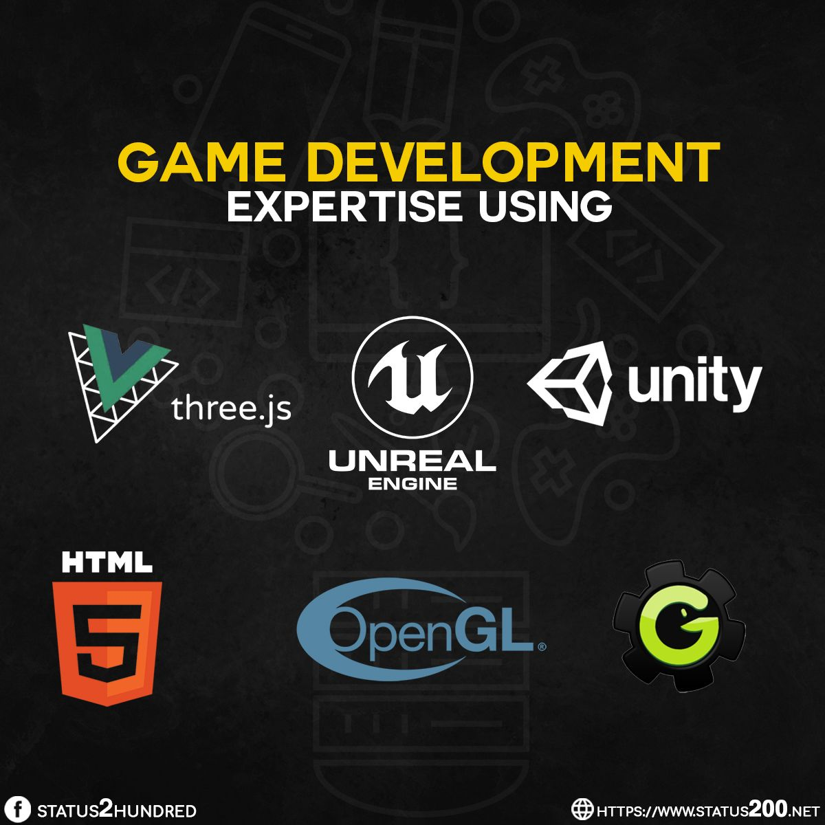Top 6 Game Development Engines Game Engine Game Development Development