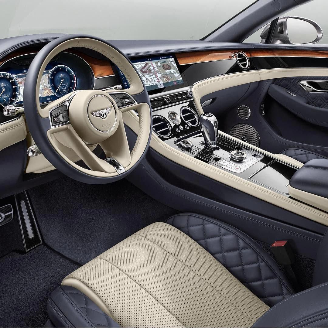Bentley Luxury Car Inside: Bentley Continental Interior.. #interiorcarcleaner