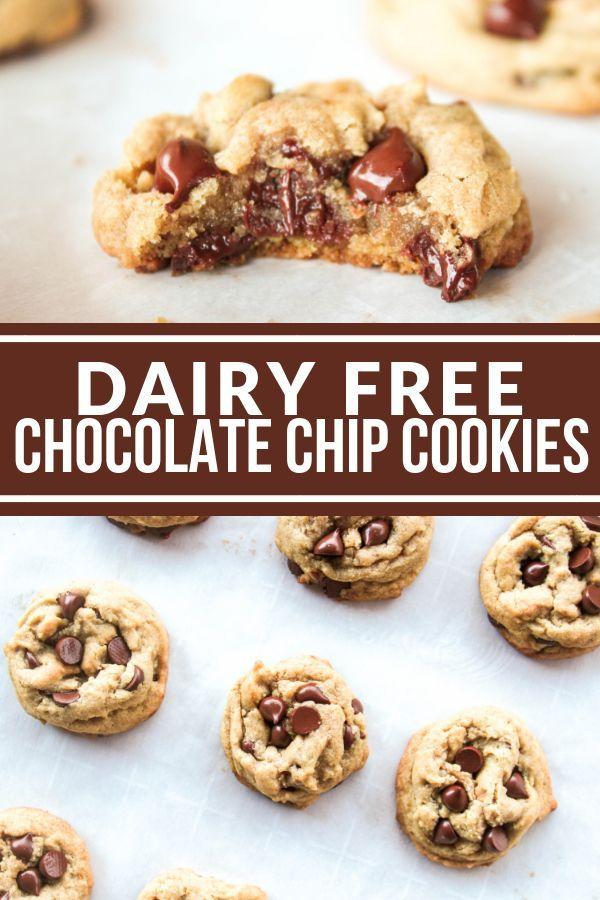Dairy Free Chocolate Chip Cookies -
