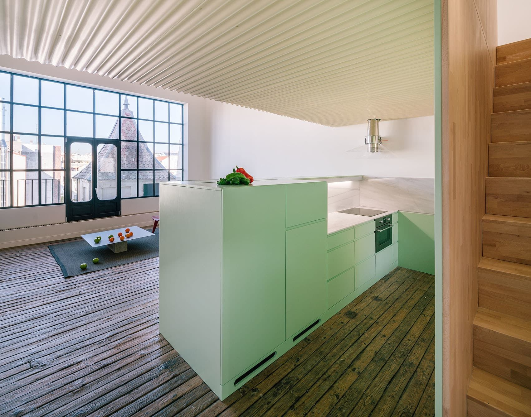 Located On A Characteristic Street In Madridu0027s Barrio De Salamanca, The  Attic Forms Part Of