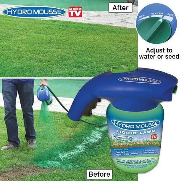 Diy Hydroseeding Project Ideas Diy Lawn Lawn Care Lawn Repair