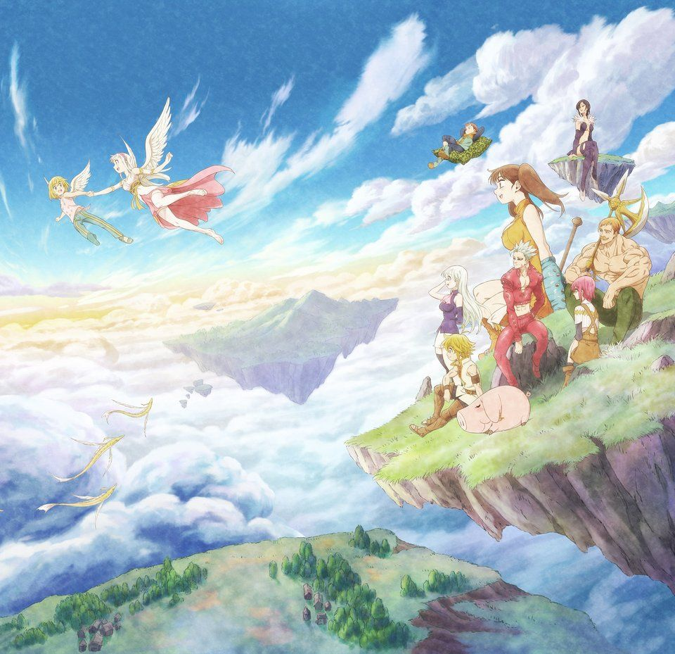 The Seven Deadly Sins: Prisoners of the Sky - Cover