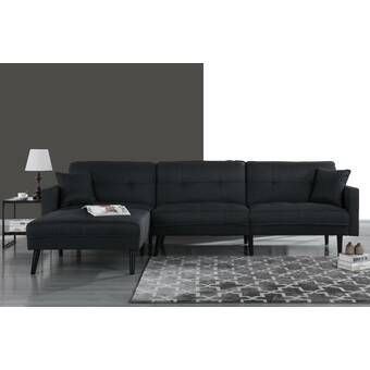 Rosina 118 Quot Reversible Sleeper Sectional In 2020