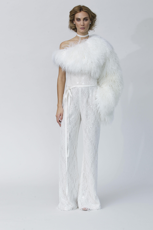 Fur wedding dress  Elanette   Rivini  Divine Designs Bridal Boutique  Pinterest