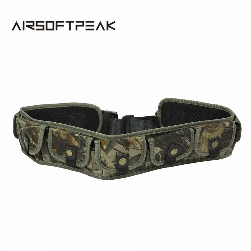 Unisex 35 Rounds 28 Rounds Hunting Ammo Belt Adjustable Shell Belt Canvas Tactical Shell Bandolier Bullet Belt Hunting Pouches