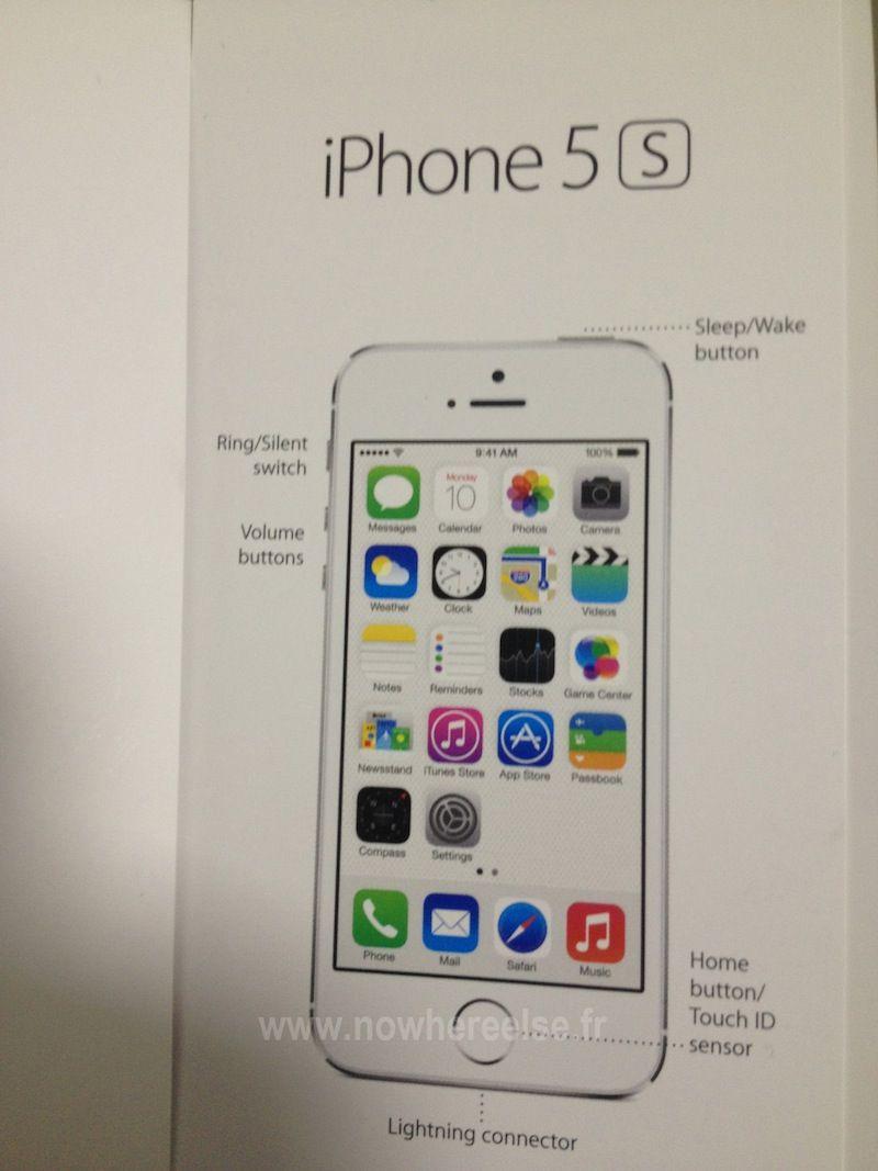 "iPhone 5s manual reveals ""Touch ID"" name for fingerprint sensor"