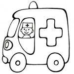 Ambulans Boyama Sayfasi Boyama Kitaplari Boyama Sayfalari