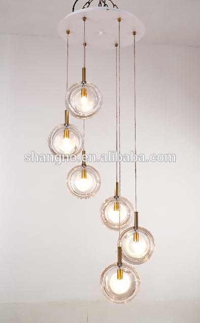 China Modern Elegant Style Multi Circular Acrylic Led Linear
