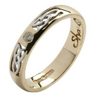 Meval Welsh Woman We Also Offer A Range Of Coordinating Wedding Bands Engraved With