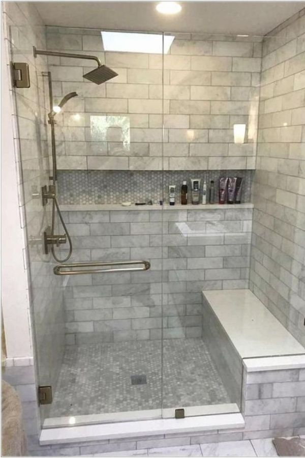 55 Luxury Walk In Shower Tile Ideas That Will Inspire You Page