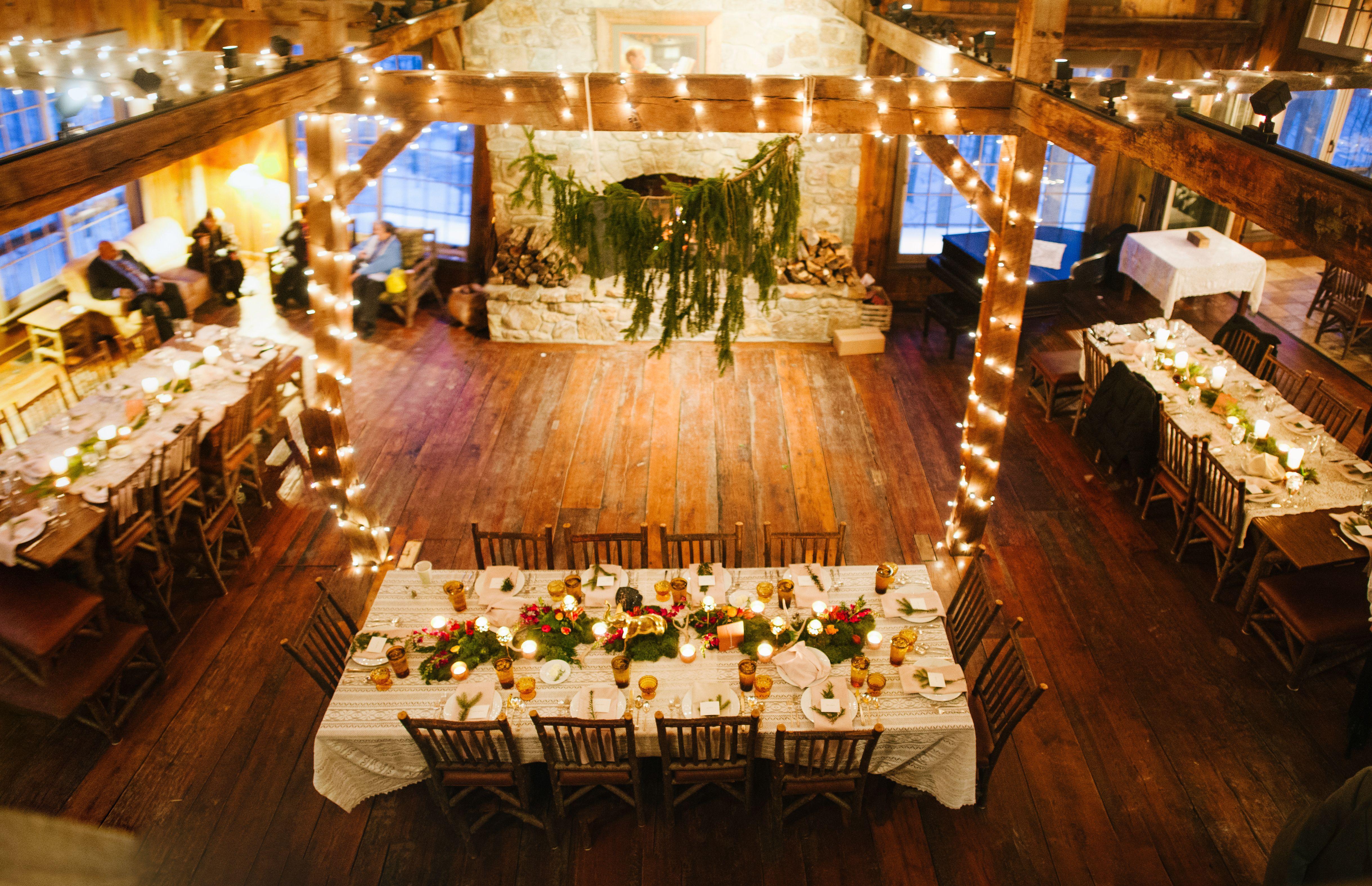Thorpewood Lodge Reception Setup