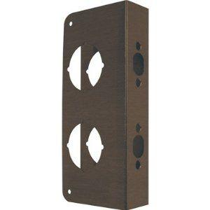 Door Reinforcer 2261 Abv 1 3 4 Door Reinforcer By Mag Security 16 52 Flat Face Design For Double Locks With 2 1 8 Reinforcer Stainless Steel Doors Doors