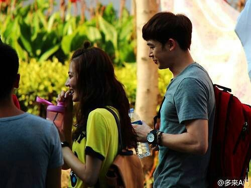 Nichkhun Filming One And A Half Summer Chinese Drama Couple Photos Photo Scenes