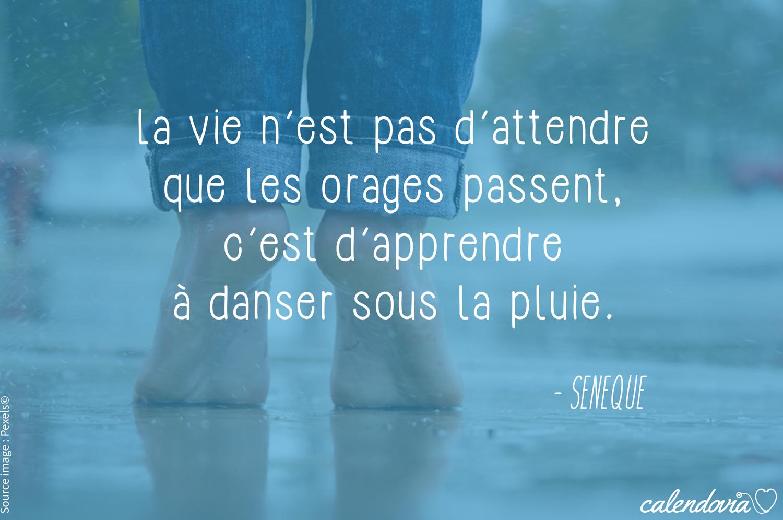 """#Sénèque nous offre cette très belle #citation : """"La vie n'est pas d'attendre…"""