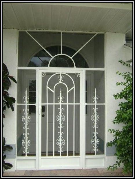 Sketch of Unique Home Designs Screen Door | Fresh Apartments ...