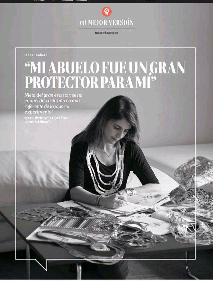 Reportaje Revista La Nación, Argentina parte I
