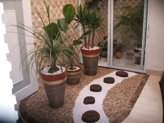jardines secos con piedras | jardín seco, ideas de diseño de