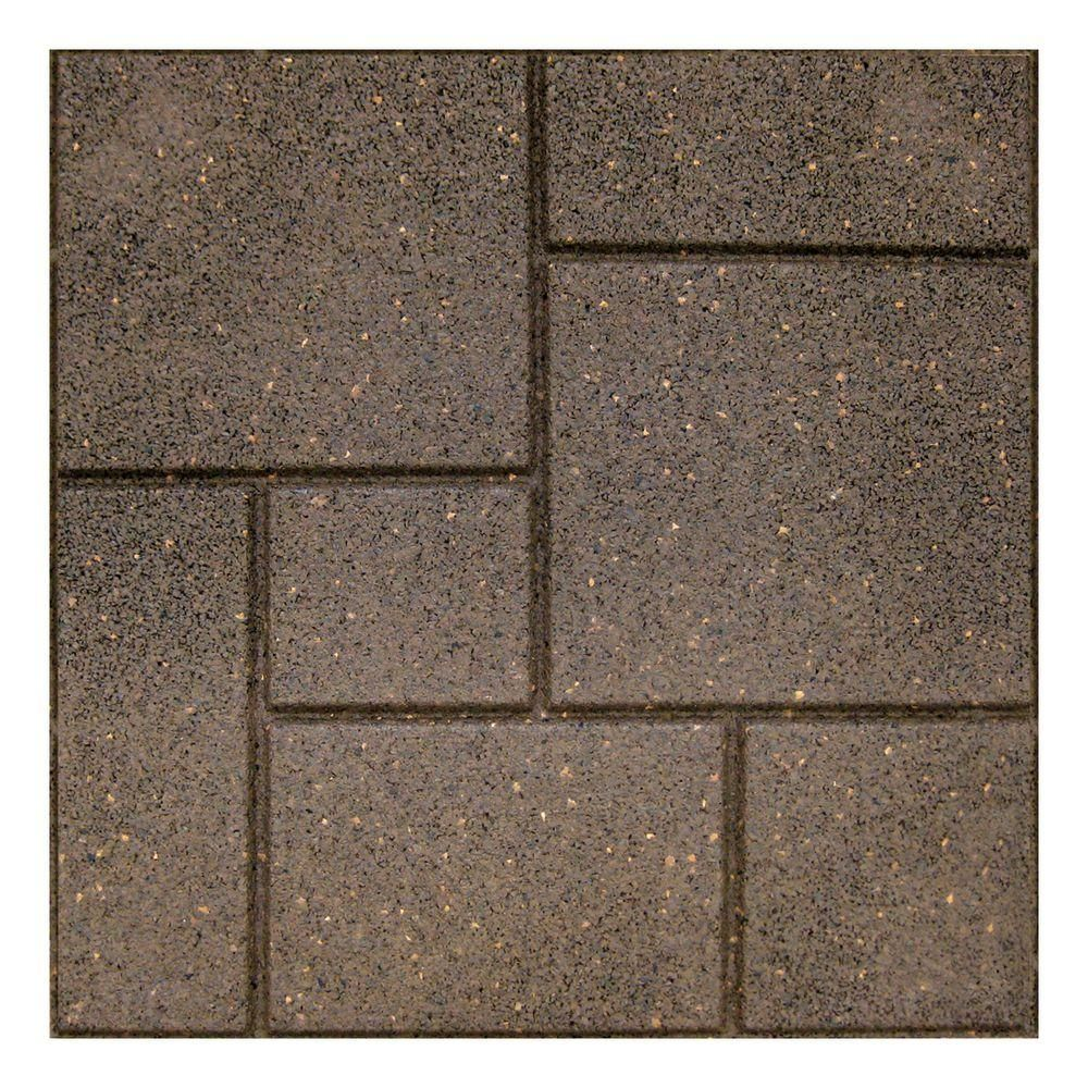 Envirotile Cobblestone 18 In X Earth Paver 70 Pack Mt5001182 The Home Depot