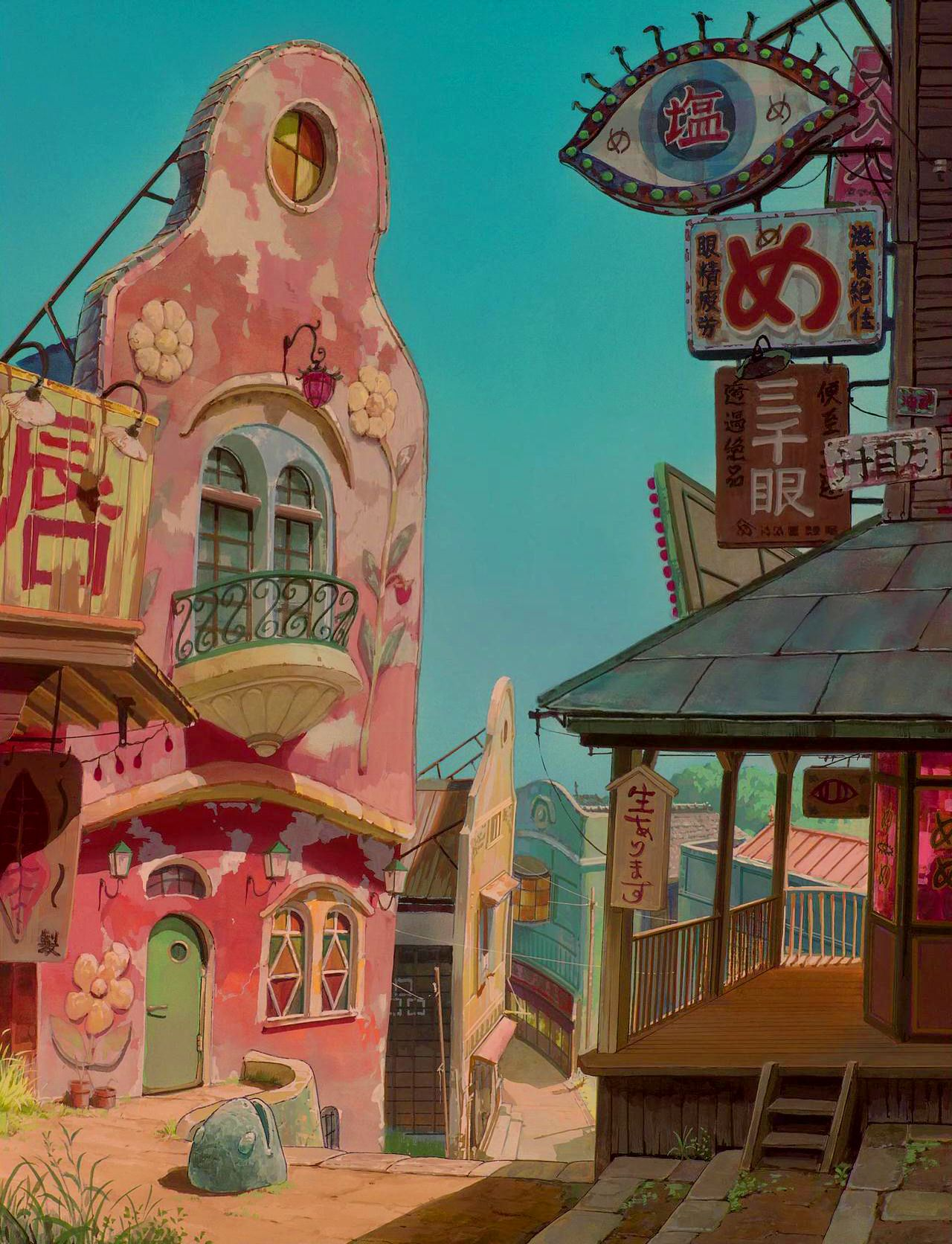 Pin By Daniel Peralta Navarro On Concept Art Studio Ghibli Art Studio Ghibli Background Ghibli Art