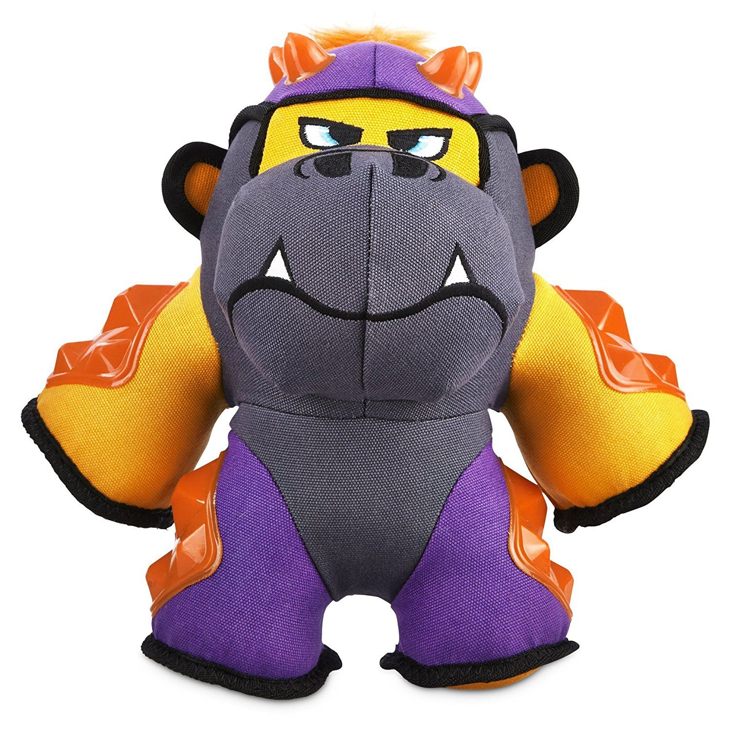 Leaps And Bounds Tough Plush Gorilla Dog Toy In Large You Can