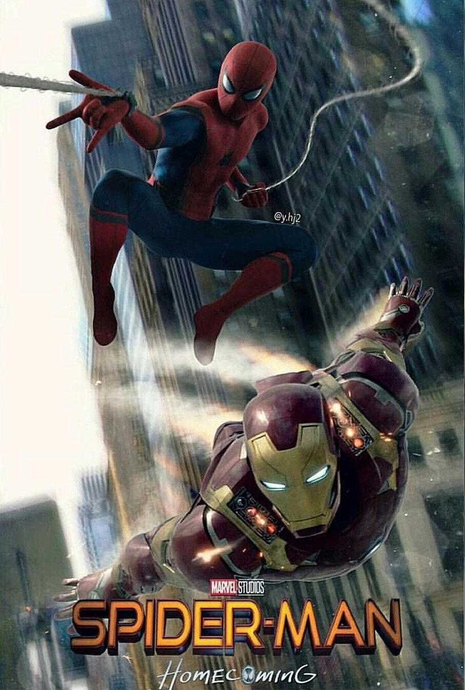 SpiderMan & IronMan From Marvel spiderman