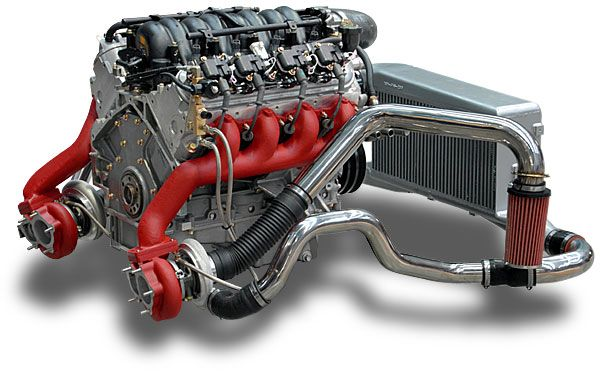 Aps Intercooled Twin Turbo Ls1 Twin Turbo Crate Motors Ls Engine