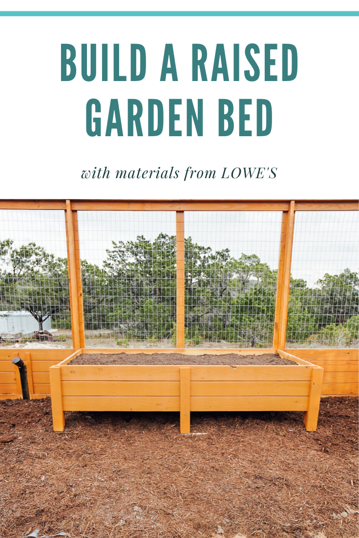Ready To Build Your Own Raised Garden Beds Check Out Lowes For All The Materials You Need Lowespartner Sponsored Loweshomeim Garden Beds Raised Garden Beds Garden