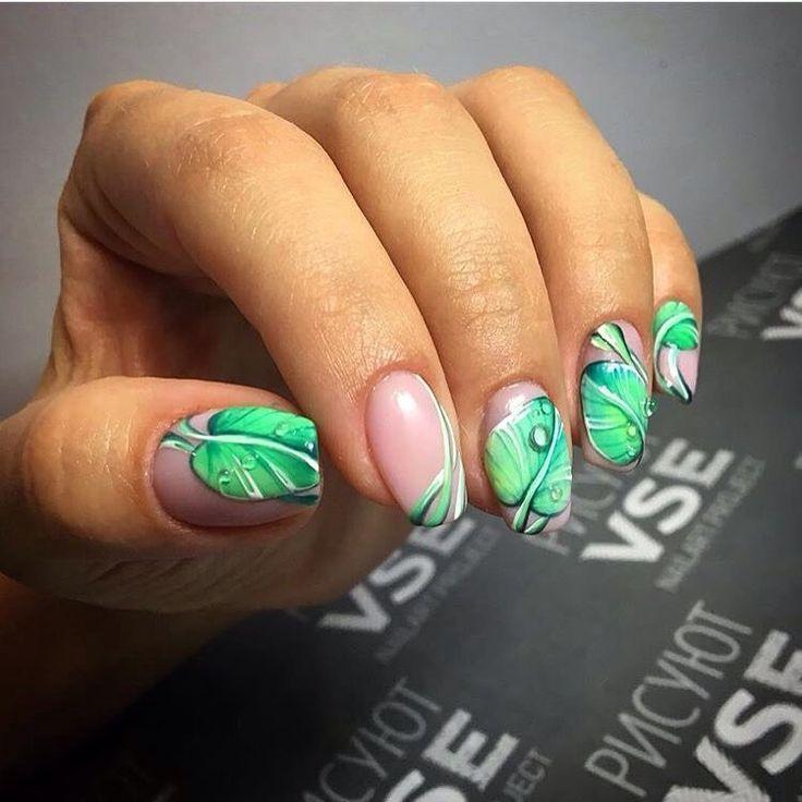 Beautiful nails 2017 bright green nails fresh nails green nail beautiful nails 2017 bright green nails fresh nails green nail designs leaves prinsesfo Image collections