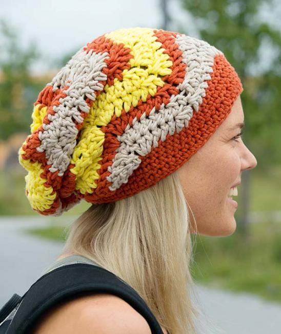Mount Ollie crochet slouch Hat - Free Pattern | Yay! Yarn ...