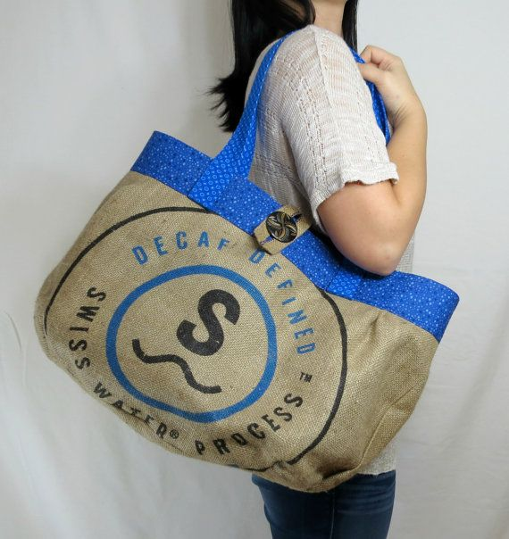 Super Save 20 Off Total Purchase Use Coupon Code Burlap20 At Checkout Colorful Extra Large Tote Bag Features Crisp Swiss Water Process