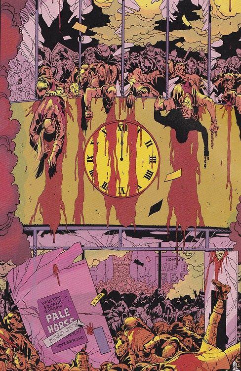 21++ Watchmen clock ideas