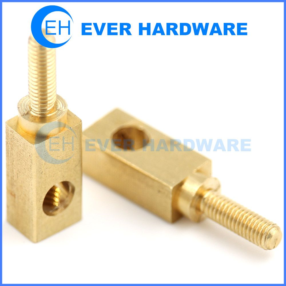 M3 Spacer Standoff Screw Nut Brass Square Brass For Pcb Male Female Brass Spacer Standoff